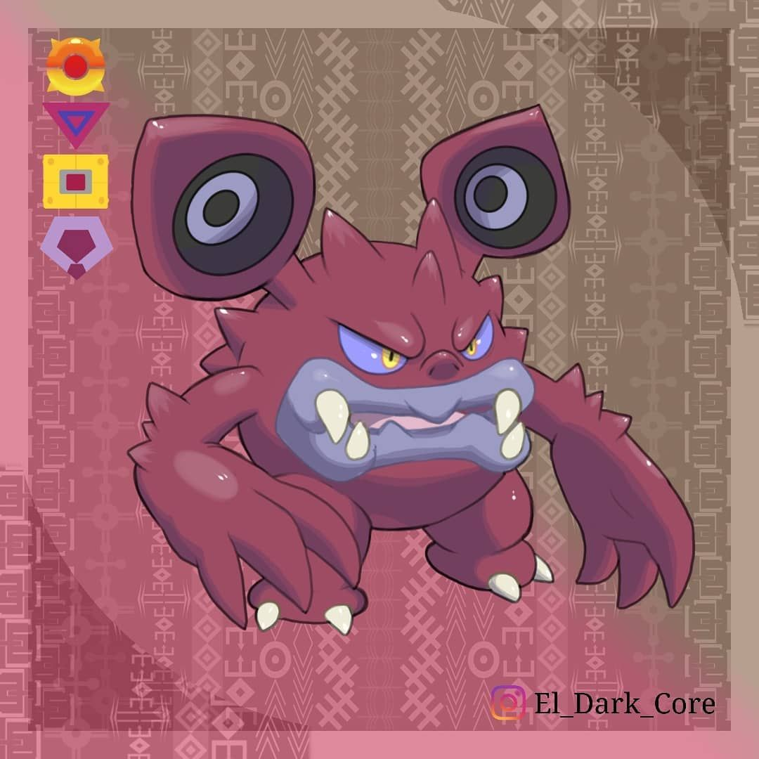 Dex No Name Loudred Type Dark Fairy Dex Entry Raian Loudred