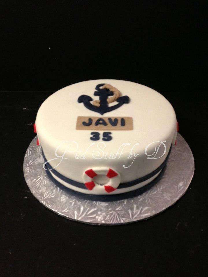 Nautical Birthday Cake Nautical Birthday Cakes Beach Birthday