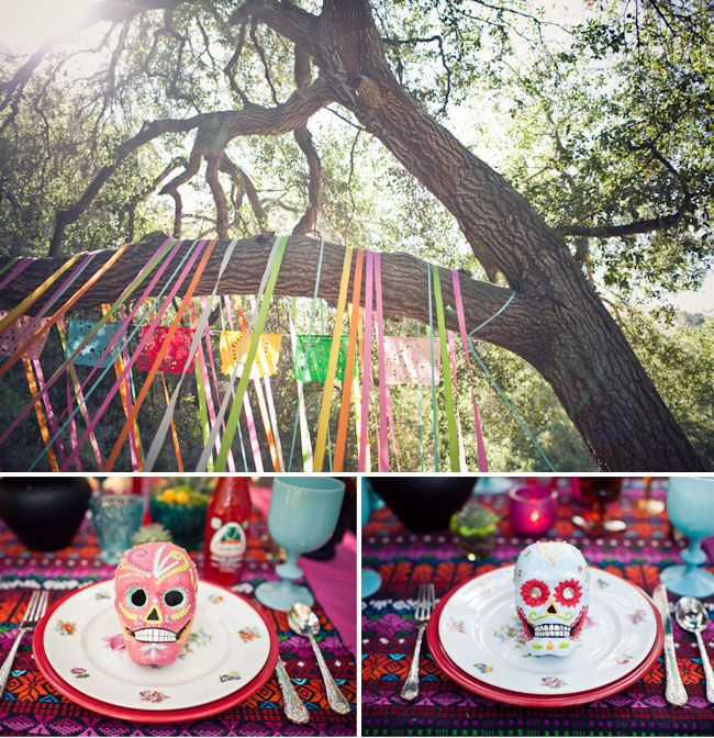 more from the dia de los muertos wedding.... | wedding+the not ...