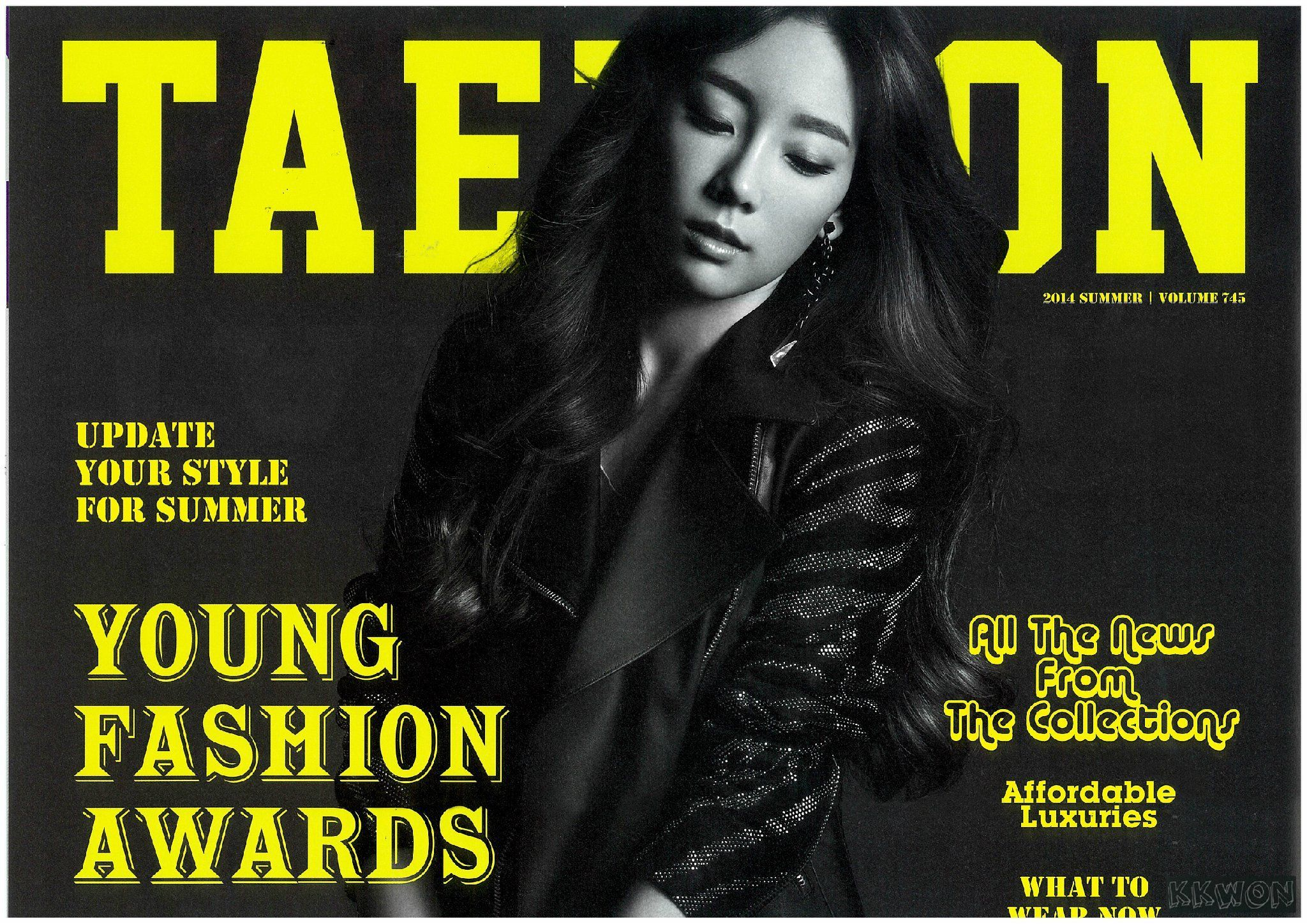 SNSD Taeyeon Love & Peace Japan pamphlet 3rd Tour