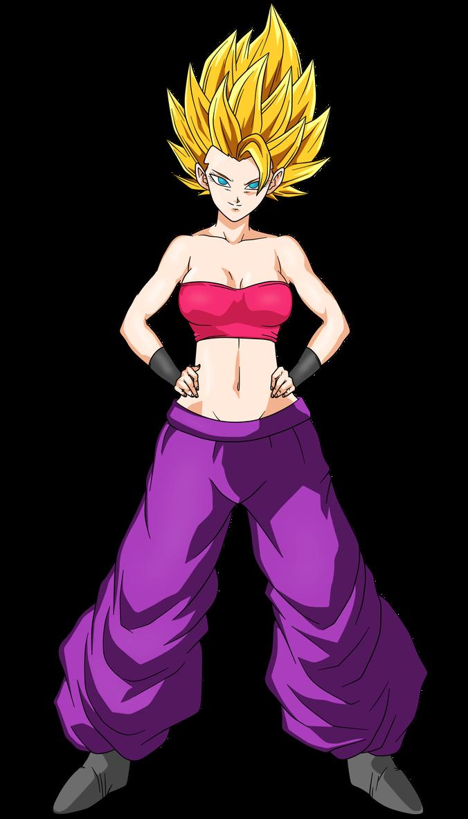 Caulifla Super Saiyan 2 By Hirus4drawing Dragon Ball
