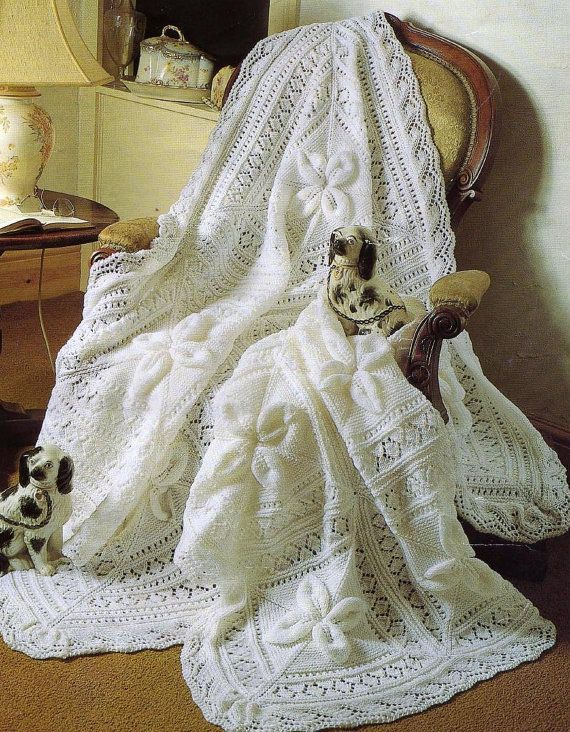 76b573cd2 HEIRLOOM Quality Knit Pattern for Shawl