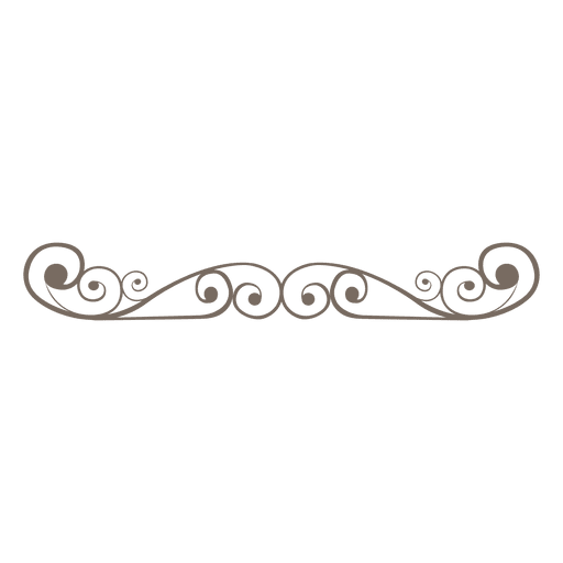 Divider Decoration Curly Swirls Ad Affiliate Sponsored Decoration Curly Swirls Divider Page Dividers Bullet Journal Dividers Clip Art Borders