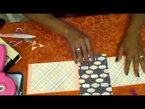 Vídeo. Mini con bolsas de papel Parte 3