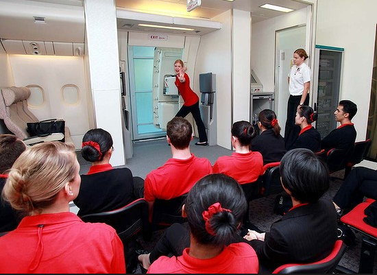 Inside Look Emirates Flight Attendant Training School