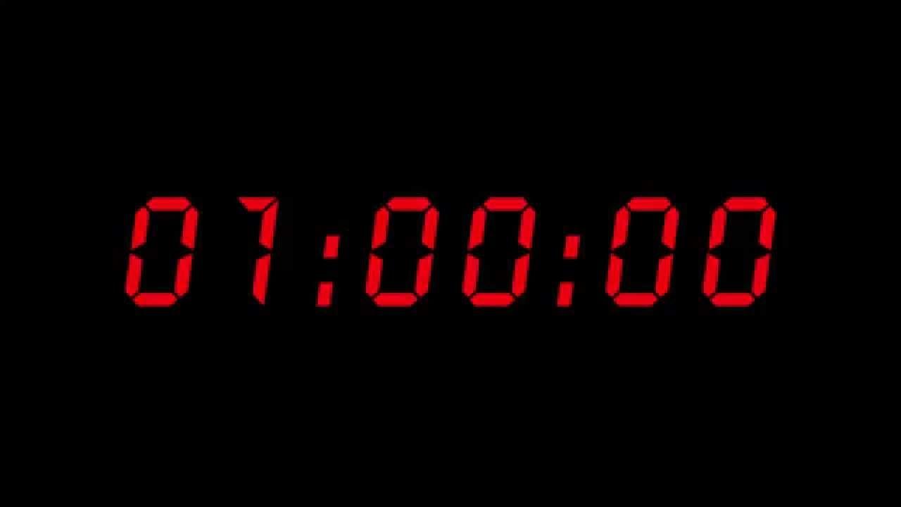 Digital Countdown Clock 1 Hour 4k Countdown Clock Digital Countdown Clock Clock