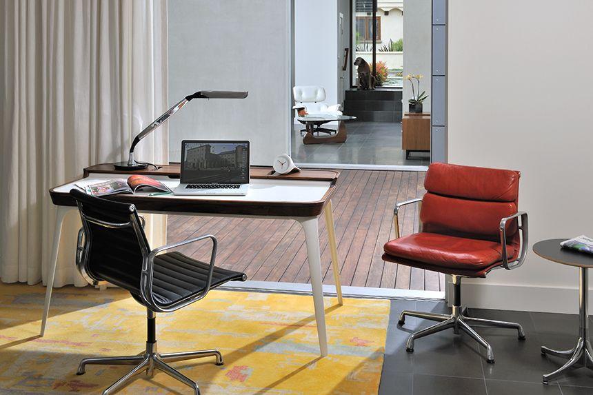 Eames aluminum group management chair eames office chair