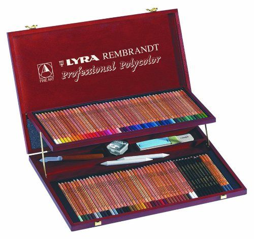 Lyra Rembrandt Polycolor Art Pencils Set Of 100 Pencils Plus
