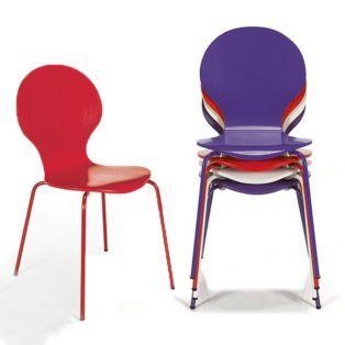 Impressionnant Chaise Cuisine Rouge Pas Cher Décoration - Chaises de cuisine rouge pour idees de deco de cuisine