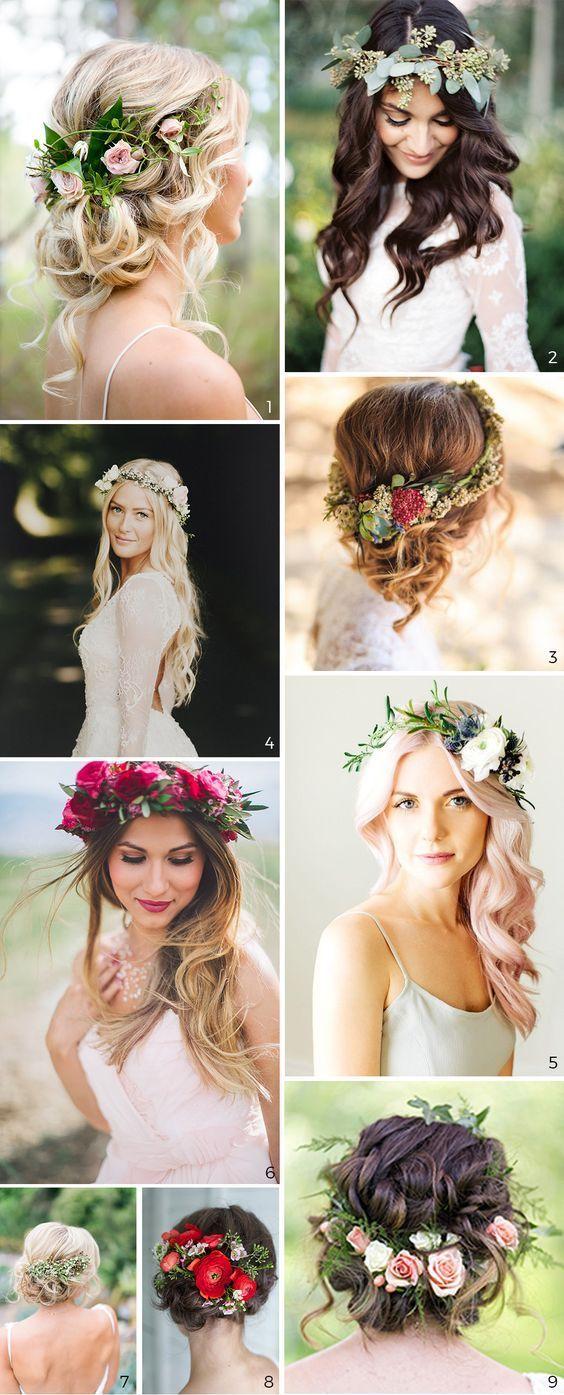Start A Fire in 10  Beach wedding hair, Flowers in hair, Best