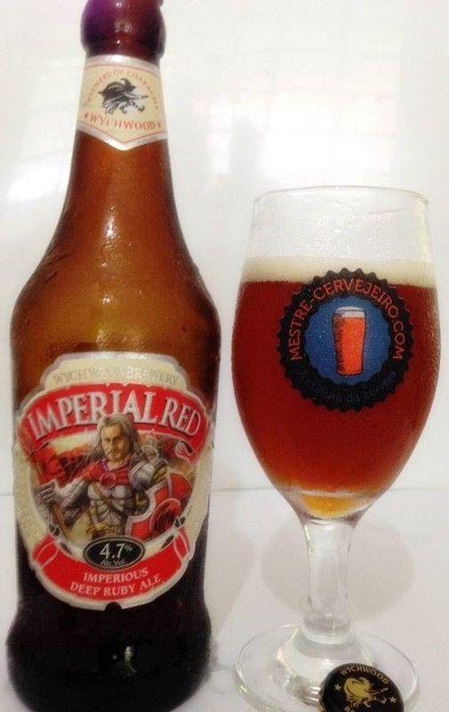 Cerveja Wychwood Imperial Red, estilo Irish Red Ale, produzida por Wychwood Brewery, Inglaterra. 4.7% ABV de álcool.