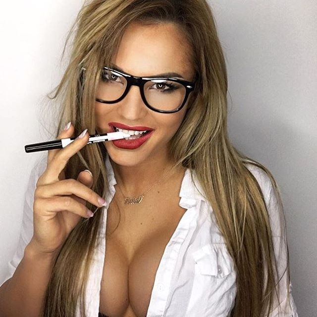girls glasses wearing college Sexy