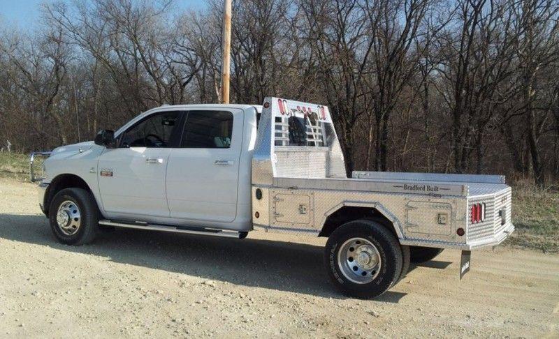 2018 Bradford Built Aluminum 4 Box Utility Bb Al4b Lazy B Trailer Sales Inc Truck Bed Trucks Truck Flatbeds