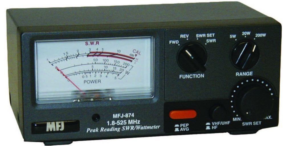 RF Power & SWR meter for 1 8-525Mhz - HF / VHF / UHF 200W