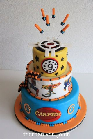 Nerf cake For all your cake decorating supplies please visit