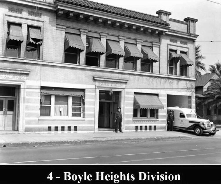 Old los angeles police department boyle heights division