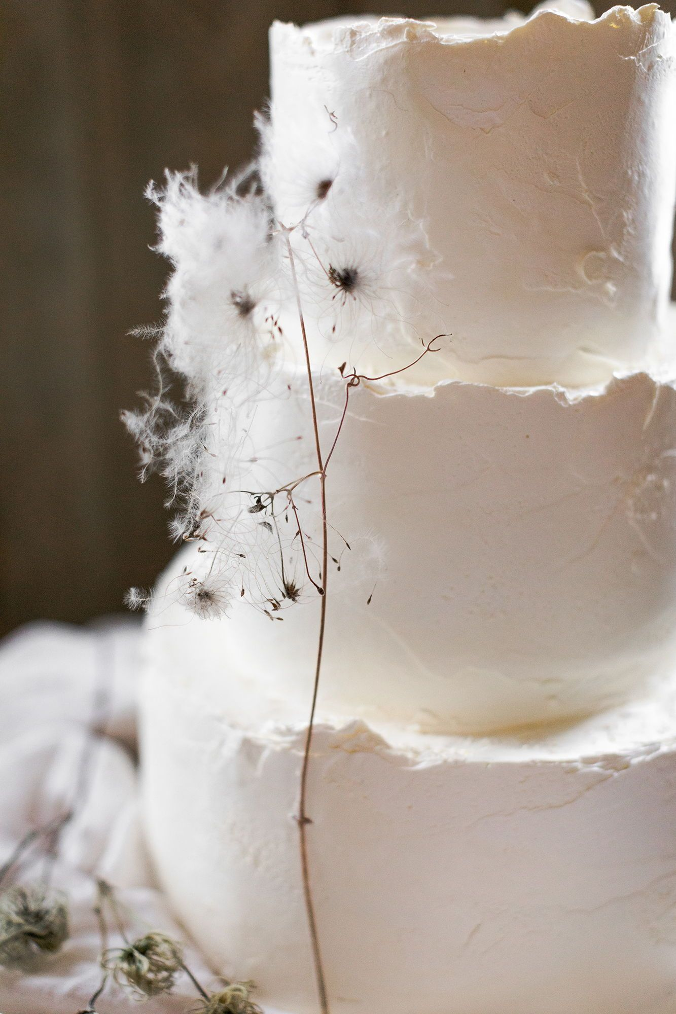 White Wedding Cake | Inspiration | Cake Design by Fig amp Salt