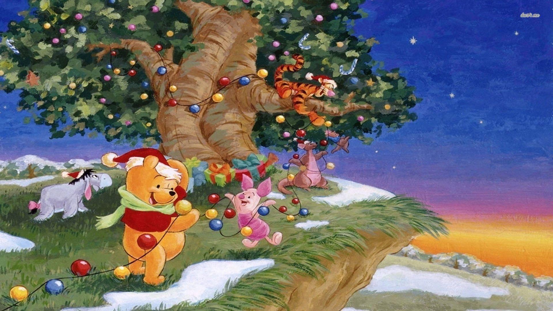 Cartoon Winnie The Pooh Pooh Wallpaper