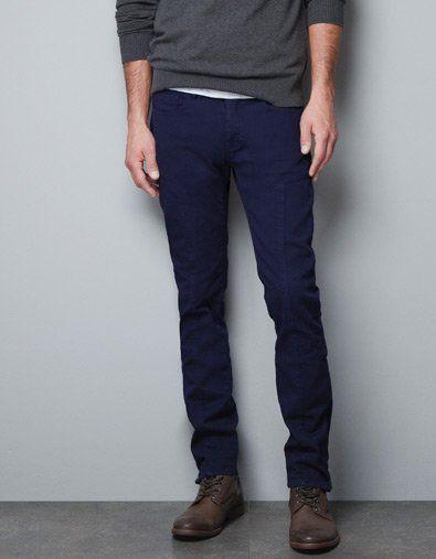 35786946 SEAMED TROUSERS - Trousers - Man - ZARA Ireland | Menswear ...