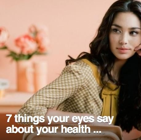 7 Things Your Eyes Say About Your Health #Health #Fitness #Trusper #Tip