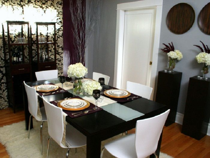 Awesome Fancy Dining Room Table Decor 96 Small Home Remodel Ideas With