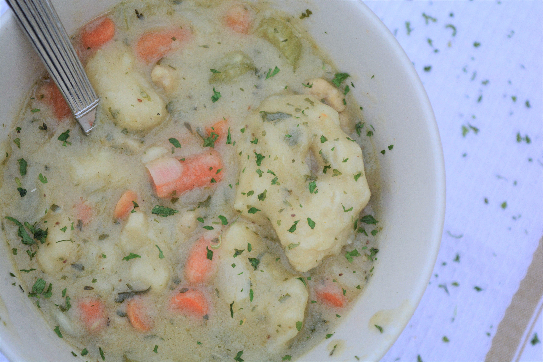 Savory Kidney-Friendly Chicken and Dumplings | Recipe ...