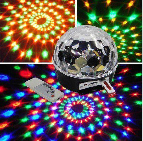 Aliexpress Com Buy Mini Led Rgb Crystal Magic Ball Effect Light Dmx Disco Dj Stage Light Led Dance Floor Alie Ball Lights Crystal Magic Ball Led Stage Lights
