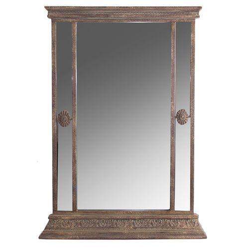 Specchio da terra anticato