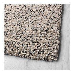 VINDUM Vloerkleed, hoogpolig, wit, 170x230 cm IKEA | Rugs