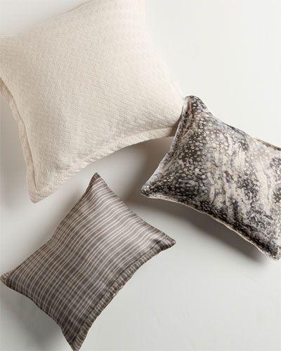 Belle Epoque 'Sand Grains' Decorative Pillow House Decor Inspiration Calvin Klein Madeira Decorative Pillow