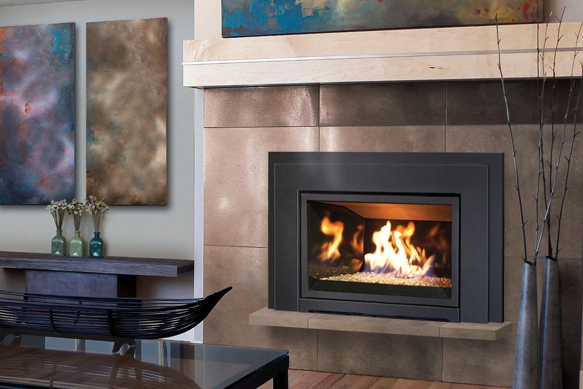 The Enviro E30 Gas Fireplace Insert Freestanding Fireplace