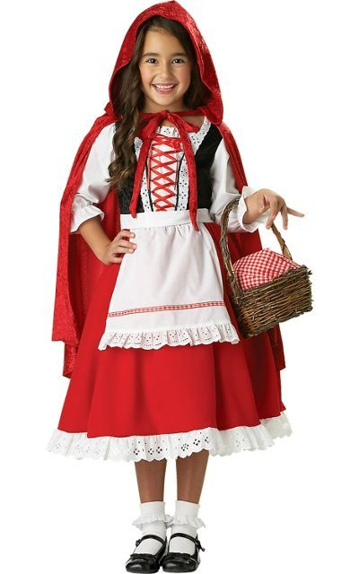 Girls Premier Little Red Riding Hood Costume Party City With