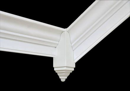 Creative Crown Inside Vaulted Molding Corner Block