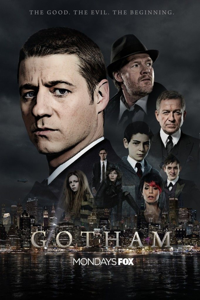 Gotham  Temporada 1  WEB-DL 720p Dual Latino/Ingles
