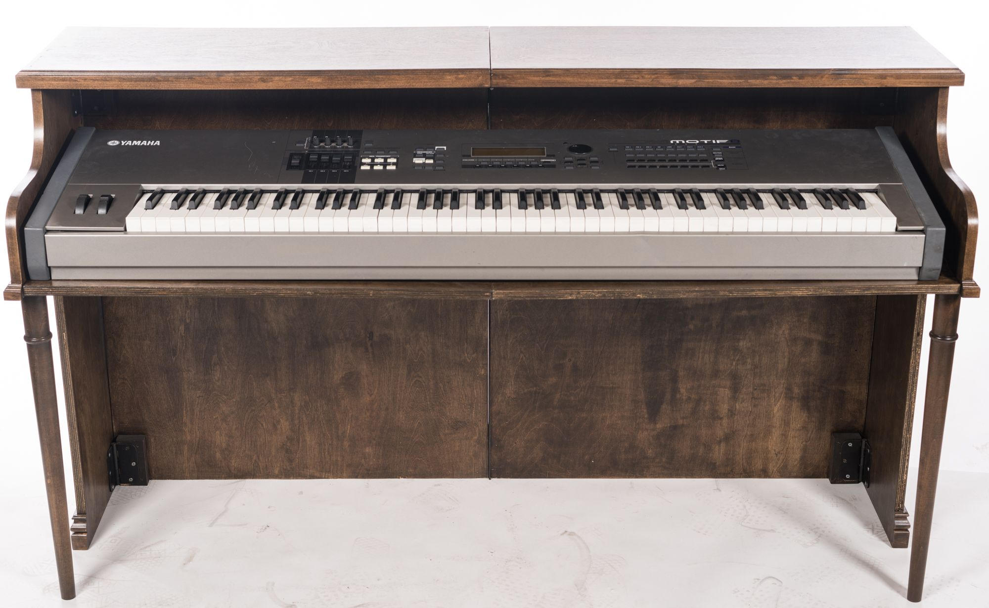 Upright Piano Shell From Custom Vintage Keyboards Piano Electric Piano Painted Pianos