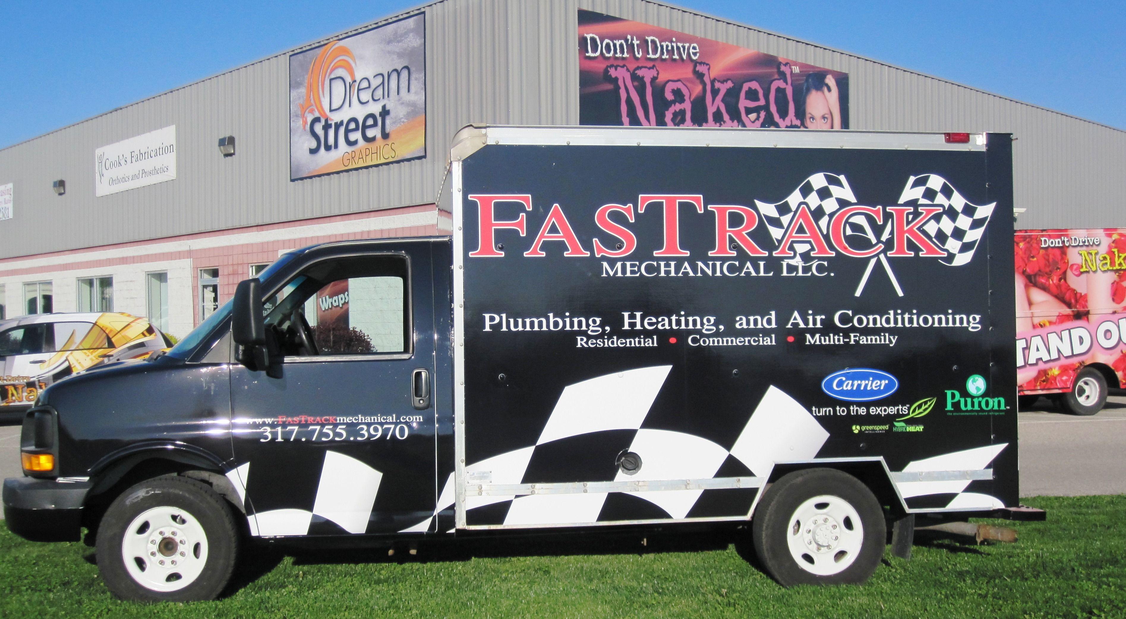FasTrack Mechanical LLC / by Dream Street Graphics / box