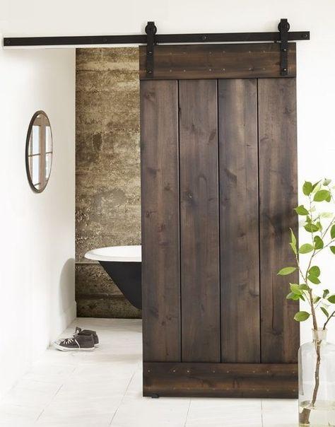 Puertas correderas tipo granero construye tus proyectos for Puertas tipo granero