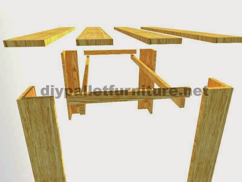 Muebles de palets planos para hacer una mesa con tablas for Construir muebles con palets