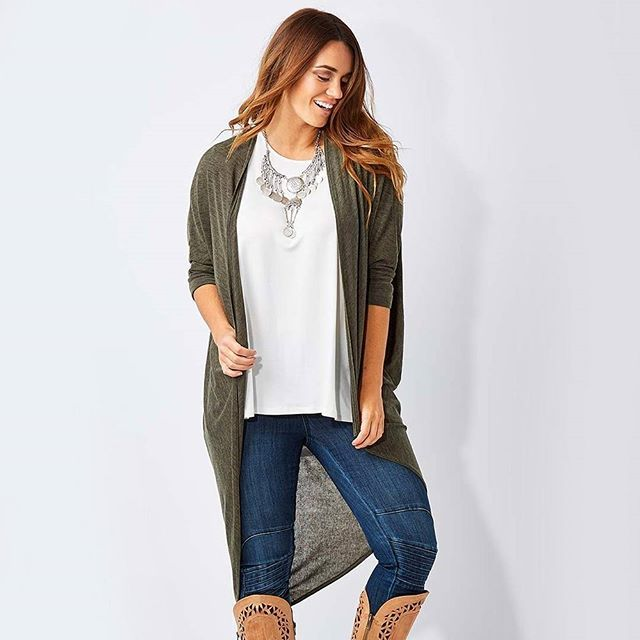 "It's BACK! We are happy to say that more stock has just arrived of our @bohobirdbybirdsnest ""Falling For You Cardi"". We love that it drapes languidly in all the right places as you pull on your favourite jeans, boots and top. Available at birdsnest.com.au #birdsnestonline #cardi"