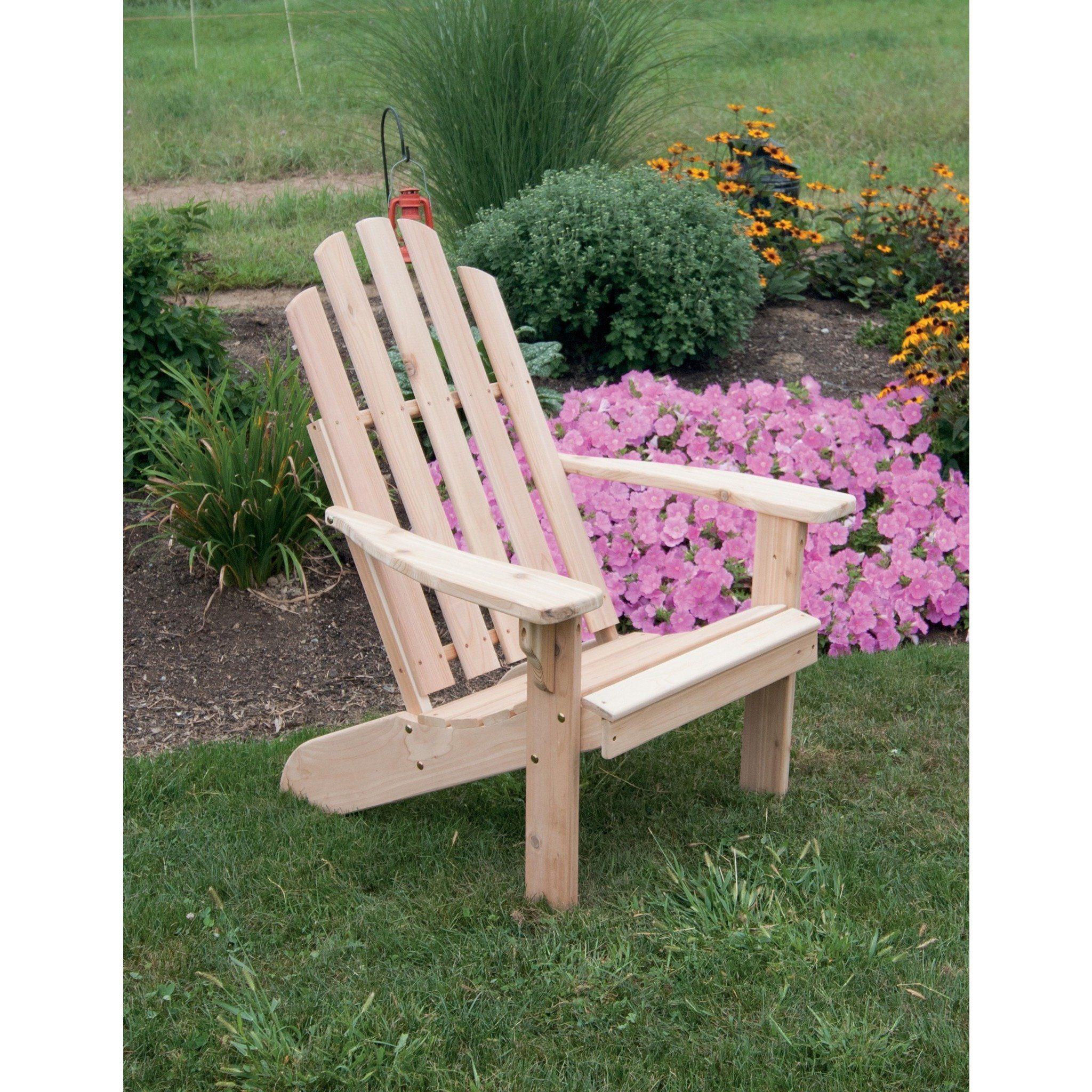 A L Furniture Co Western Red Cedar Kennebunkport Adirondack