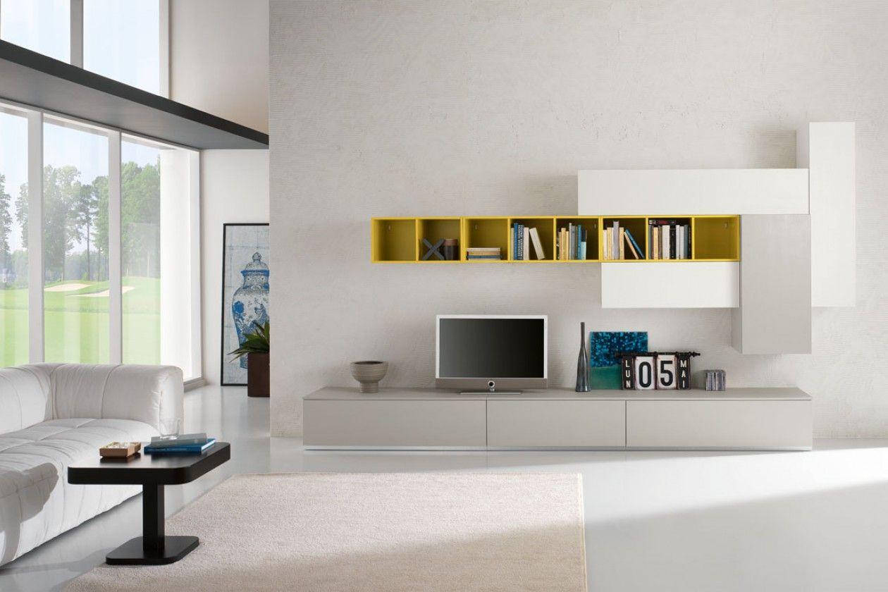 Soggiorno Spar ~ Soggiorno moderno componente colonna living room decor
