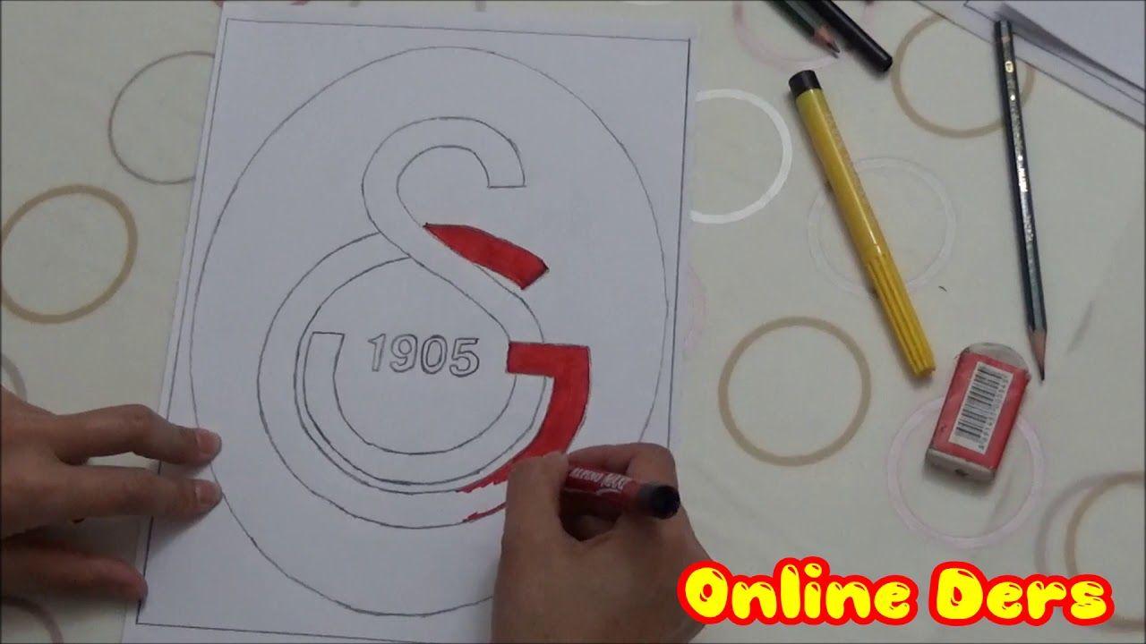 Galatasaray Logo Cizimi Cizim Logolar