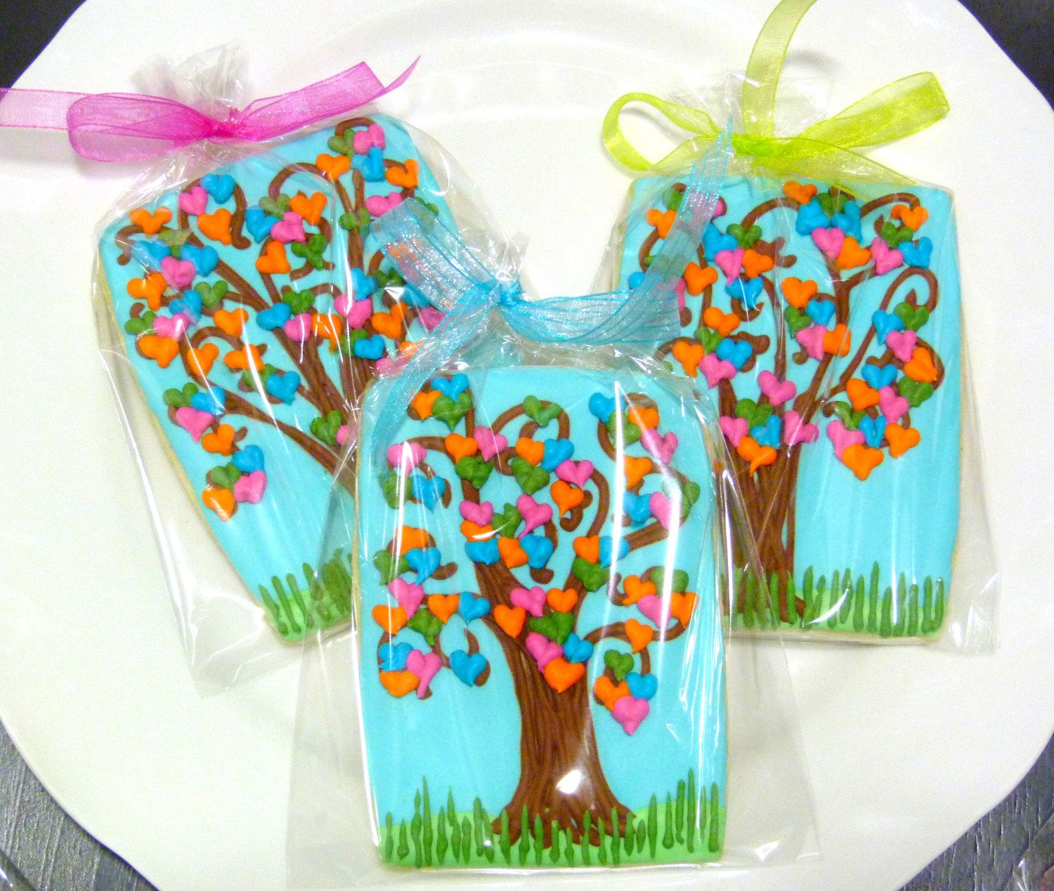 Custom Decorated Gourmet Sugar Cookie by SweetRoseCookies on Etsy