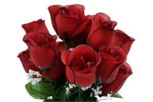 84 fake roses - wedding