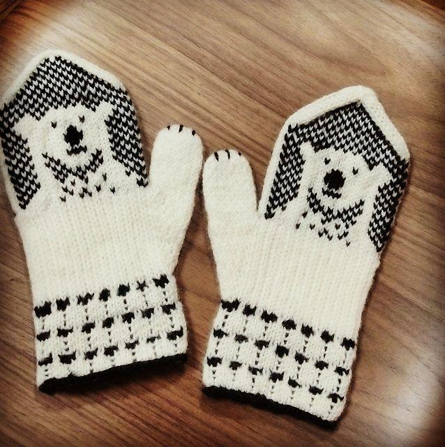 Ravelry: utako\'s Polar Bear Mittens | Mittens | Pinterest | Boutique ...