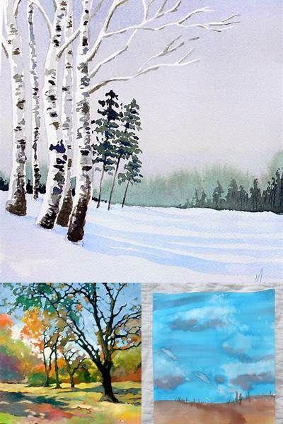Easy Watercolor Paintings Christmas – Bing images,  #Bing #Christmas #easy #images #paintings…
