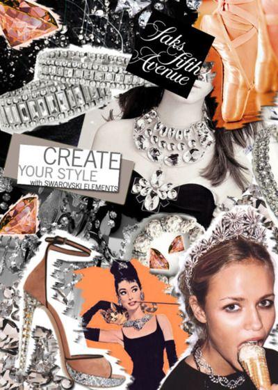via P.S.- I made this...Headband with Saks & Swarovski Elements #PSIMADETHIS #DIY #INSPIRATION #SAKSFIFTHAVENUE #SWAROVSKIELEMENTS