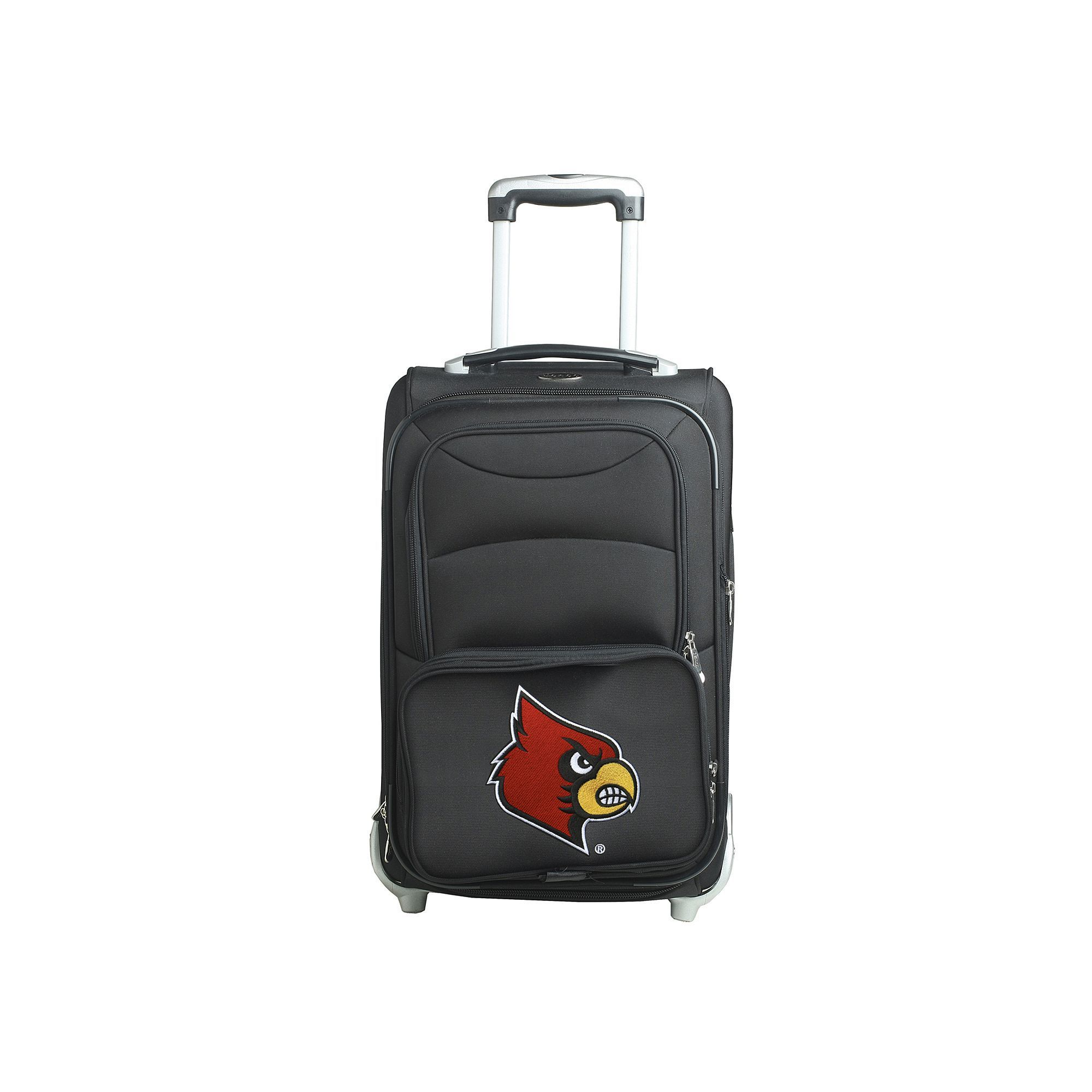 Louisville Cardinals 20.5-in. Wheeled Carry-On, Black