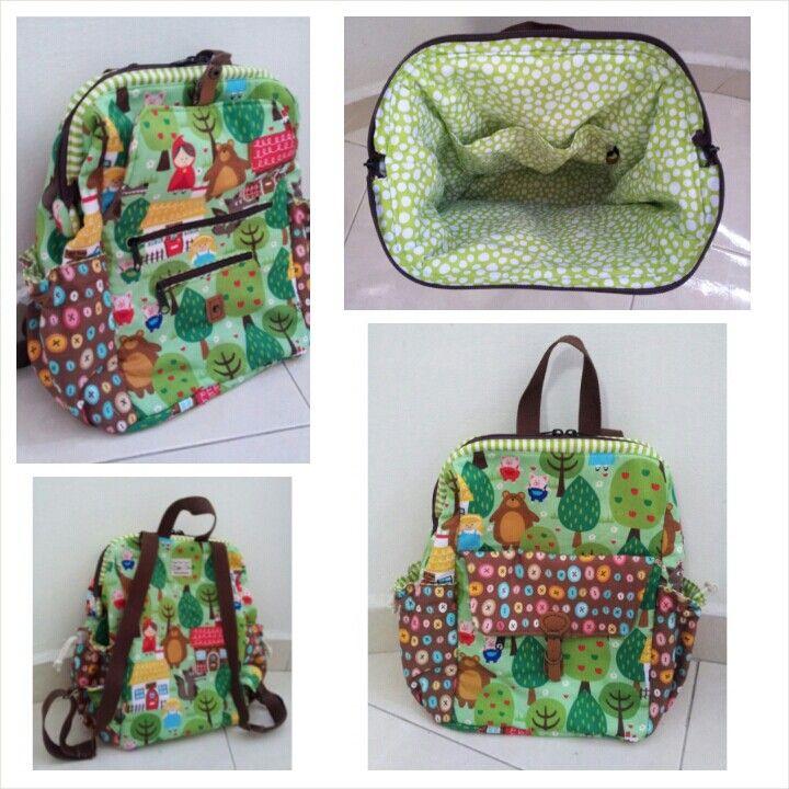 Fairy Tales Doctor Frame Backpack | DIY Bags | Pinterest