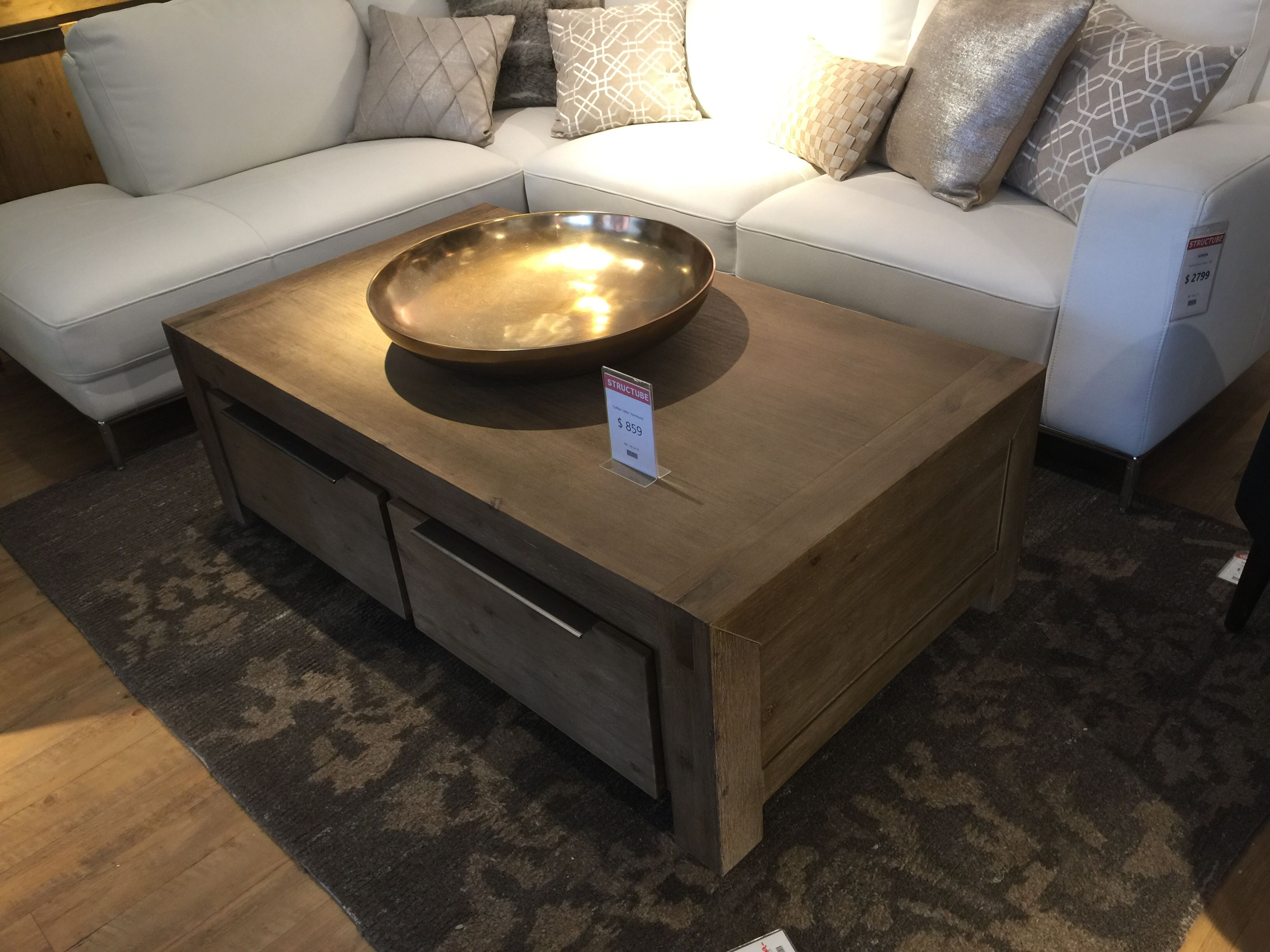 Hamburg Coffee Table $859 from Structube 319 Jones